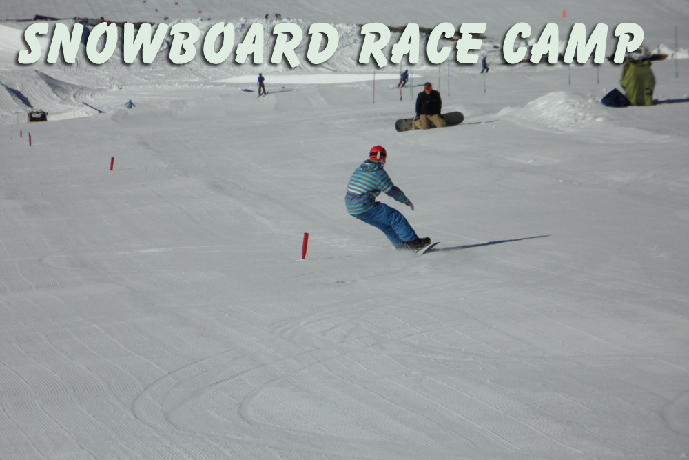 Snowboard race camp