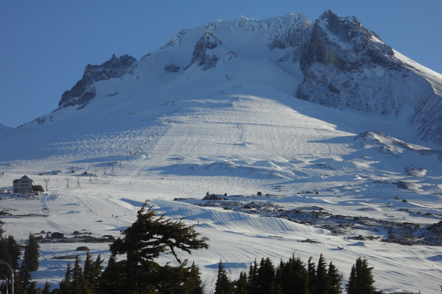 mt hood palmer snowfield