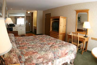 mt hood inn bedroom