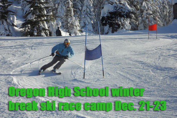 Oregon high school winter camp