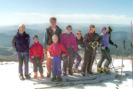 Ted Ligety group photo 1994