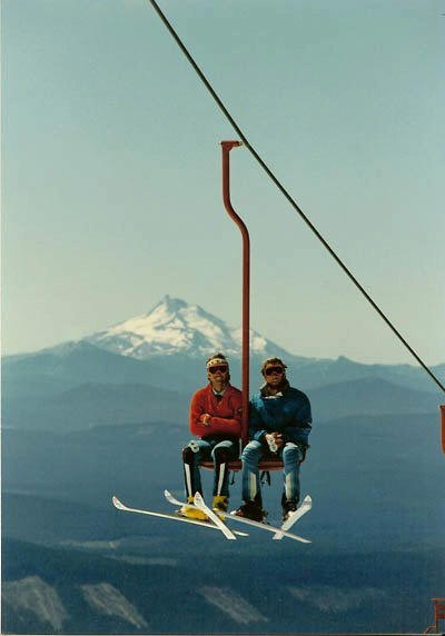 The old palmer chairlift
